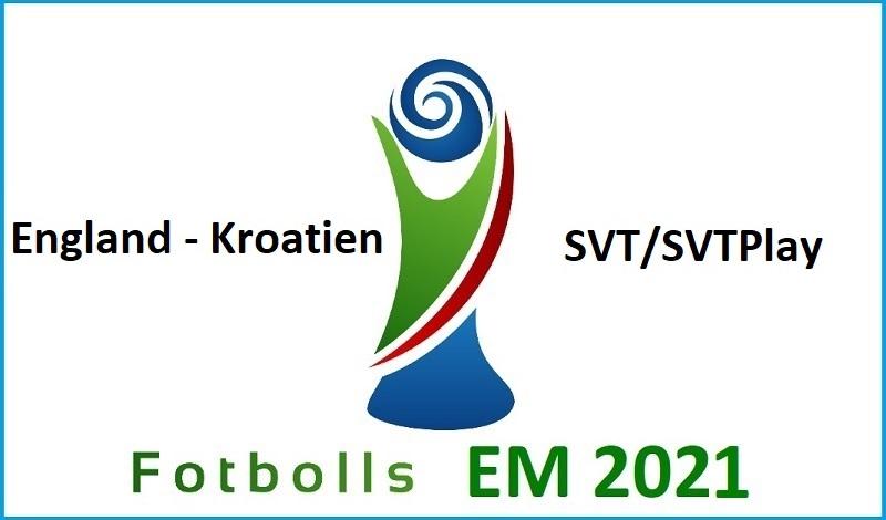 England - Kroatien i Fotbolls EM 2021