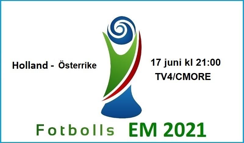 Holland - Österrike i Fotbolls EM 2021