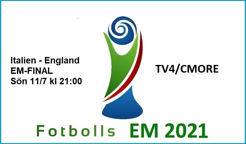 Italien - England i Fotbolls EM 2021