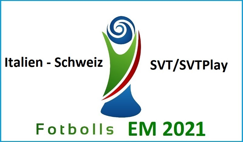 Italien - Schweiz i Fotbolls EM 2021
