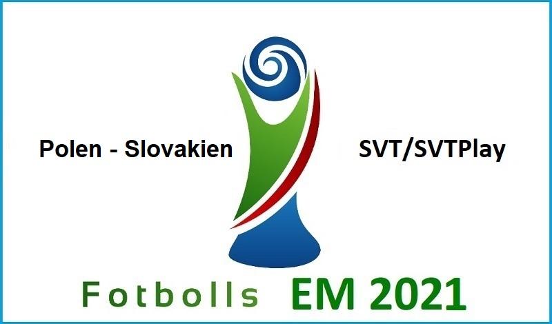 Polen - Slovakien i Fotbolls EM 2021