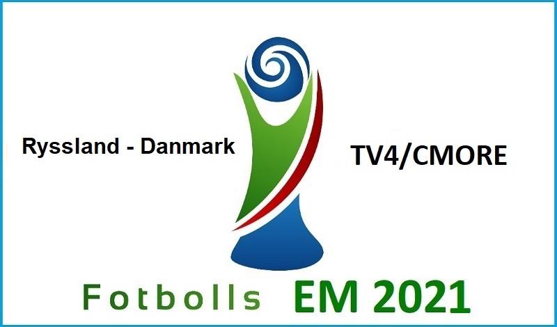 Ryssland - Danmark i Fotbolls EM 2021