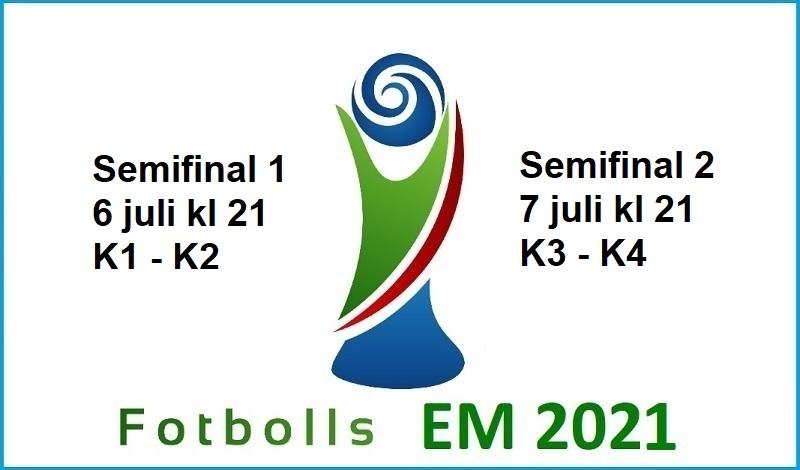 Semifinaler Fotbolls EM 2021