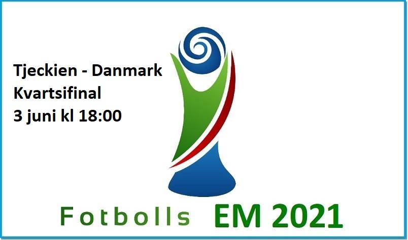 Tjeckien - Danmark i Fotbolls EM 2021