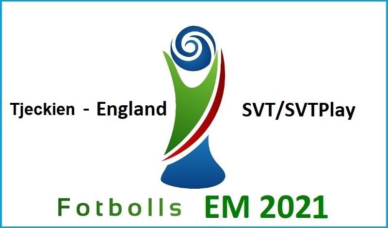 Tjeckien - England i Fotbolls EM 2021