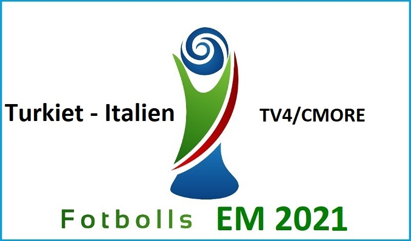 Turkiet - Italien i Fotbolls EM 2021