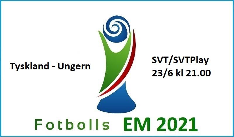 Tyskland - Ungern i Fotbolls EM 2021