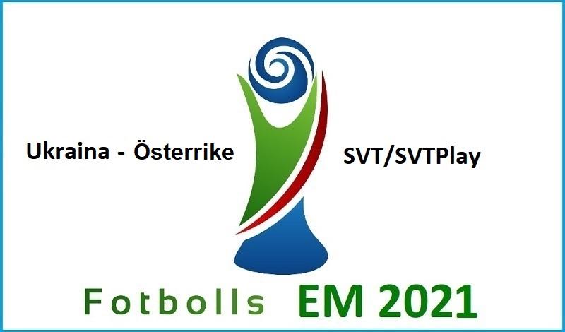 Ukraina - Österrike i Fotbolls EM 2021