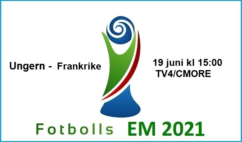 Ungern - Frankrike i Fotbolls EM 2021